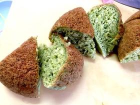 超簡単!炊飯器 de 野菜蒸しパンケーキ