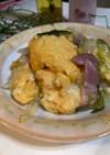 無限白菜!白菜と卵のベーコン中華炒め