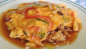 ふわふわ卵の本格天津飯