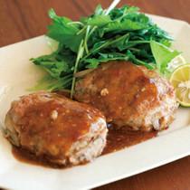 鶏ひき肉とごぼうのつくね
