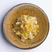 キャベツと玉ねぎのサブジ