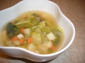 野菜たっぷり!コンソメスープ