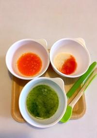☆離乳食初期☆ 10倍粥+野菜+豆腐 ①