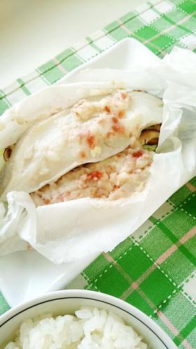 白身魚の大和蒸し*梅風味*うま塩