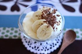 ちゅるるんバナナミルクプリン