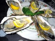 牡蠣のオードブルの写真