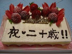 ☆いちごのデコレーションケーキ☆
