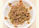 生姜焼のたれで簡単♪エノキとハムの炒め物