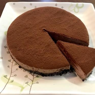 簡単!生チョコチーズケーキ