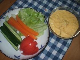 グリーンサラダ&チーズドレッシング