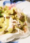 ヤマトポークの煎茶ドレッシングサラダ