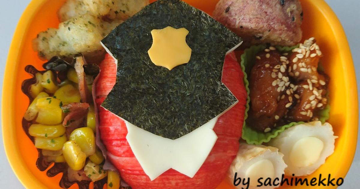 パトレンジャー♡パトレン1号♡キャラ弁 by sachimekko 【クックパッド】 簡単おいしいみんなのレシピが291万品