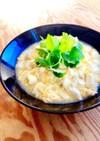 豆腐と鶏そぼろの卵とじ