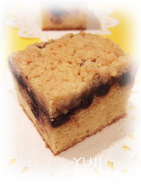 ◆ブルーベリージャム★クランブルケーキ◆
