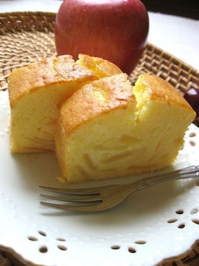 林檎のクリームチーズパウンド