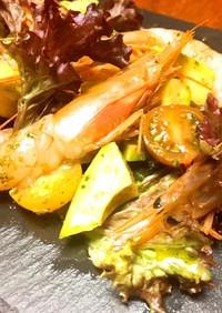 旨☆アルゼンチン赤海老とアボカドのサラダ