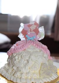 簡単♡ドールケーキ♡
