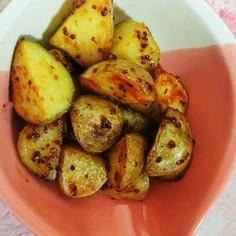 新じゃが芋のハニーマスタード糖尿病レシピ