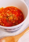 レンズ豆のトマト煮込み❁食べるスープ