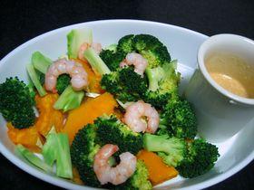 ホッと温野菜サラダ
