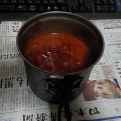 野菜不足対応策としての鯖缶トマト煮