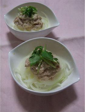 ツナ明太のオニオンサラダ