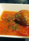 パセリ風味の肉団子のトマトソース煮込み