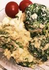 ブロッコリーの卵ツナサラダ