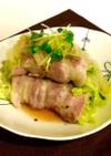 材料3つ!白菜とかいわれ大根の豚肉まき