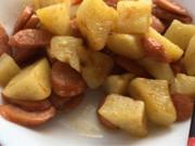 ジャガイモのギー炒めの写真