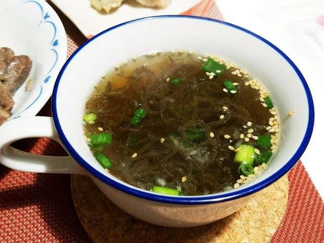 もずく スープ
