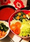 シーフード♡トマトカレー鍋♡