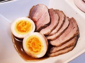 圧力鍋で簡単!おいしい煮豚と煮たまご