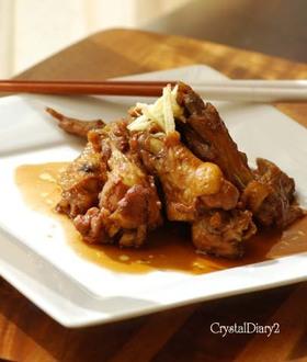 鶏手羽のコトコトお酢煮