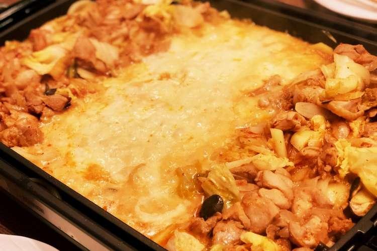 チーズ タッカルビ クックパッド