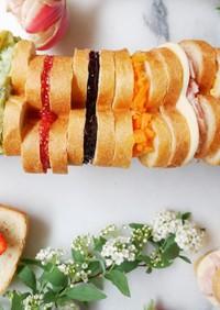 バレンタインに♡ハートパンサンドイッチ