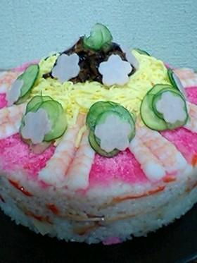★ひな祭り    ちらしケーキ★