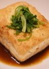 豆腐ステーキガーリック醤油風味