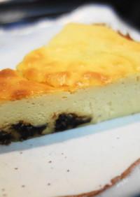 砂糖・小麦粉なし ベイクドチーズケーキ