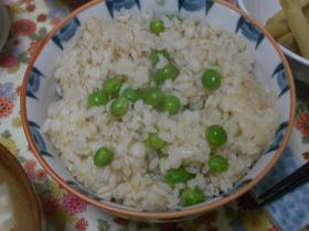 ★麦&生姜入り豆ご飯☆