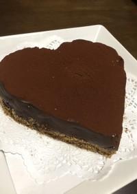 簡単生チョコケーキ