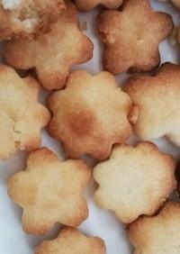 材料三つ!!!!簡単クッキー