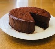 ラム酒香る 大人のチョコムースケーキの写真
