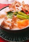 鳥モモ肉と白菜の柚子胡椒クリーム煮