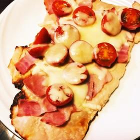 酒蔵の酒粕(板粕)ピザ