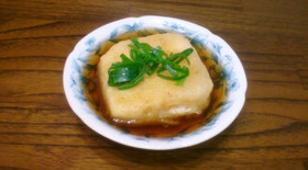 簡単絶品♪揚げだし豆腐