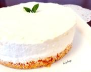 ゼラチン不要♪濃厚レアチーズケーキの写真