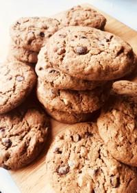 チョコとくるみのクッキー