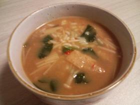 余った味噌汁で~韓国風ねこまんま~
