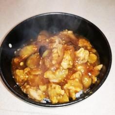 エバラ焼き肉のタレ あんかけ丼